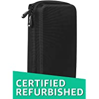 (Certified REFURBISHED) AmazonBasics Universal Travel Case for Small Electronics and Accessories (Black)