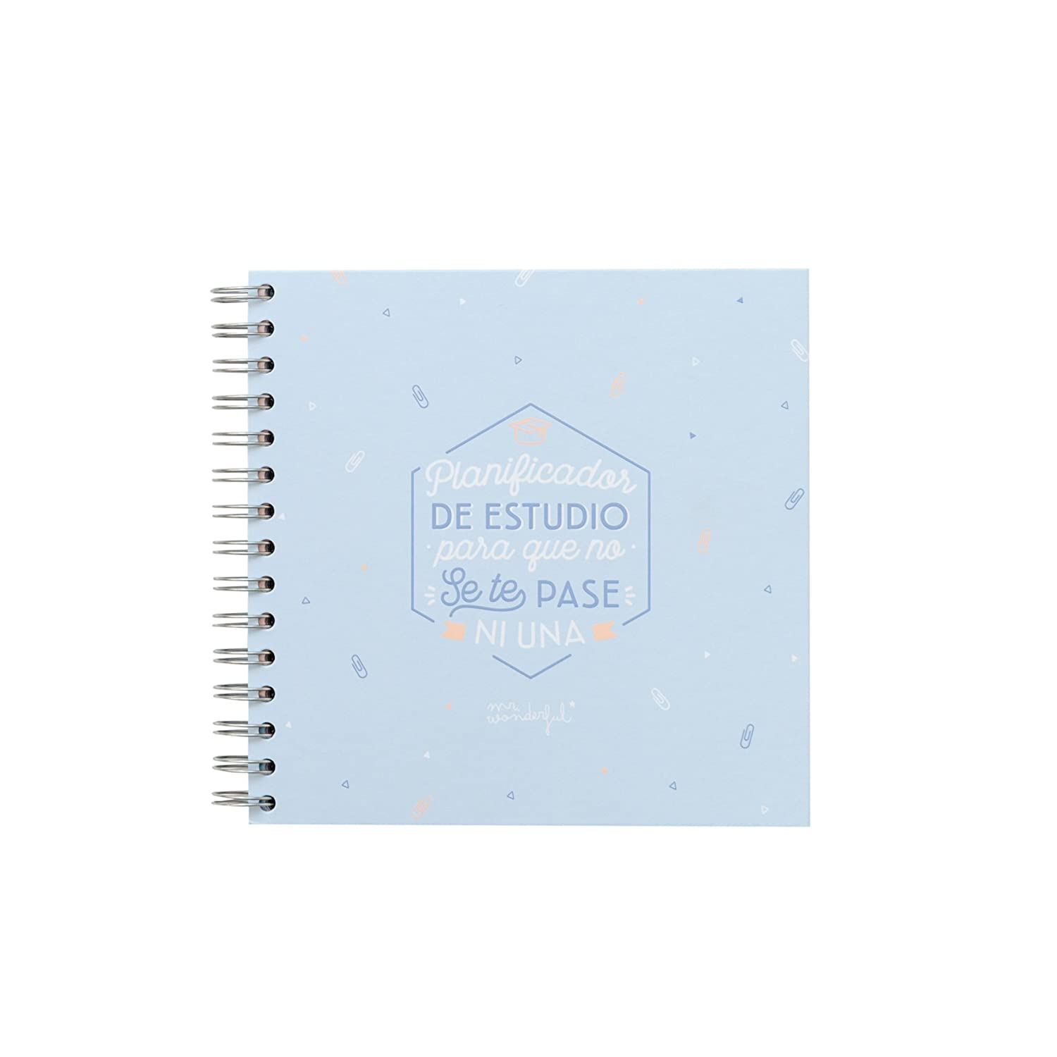 Amazon.com : Mr. Wonderful woa09062es - Study Planner Mr. Wonderful for That You Will not Pass Nothing : Office Products