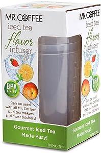 Mr. Coffee BVMC-TN1 Iced Tea Flavor Infuser, Clear