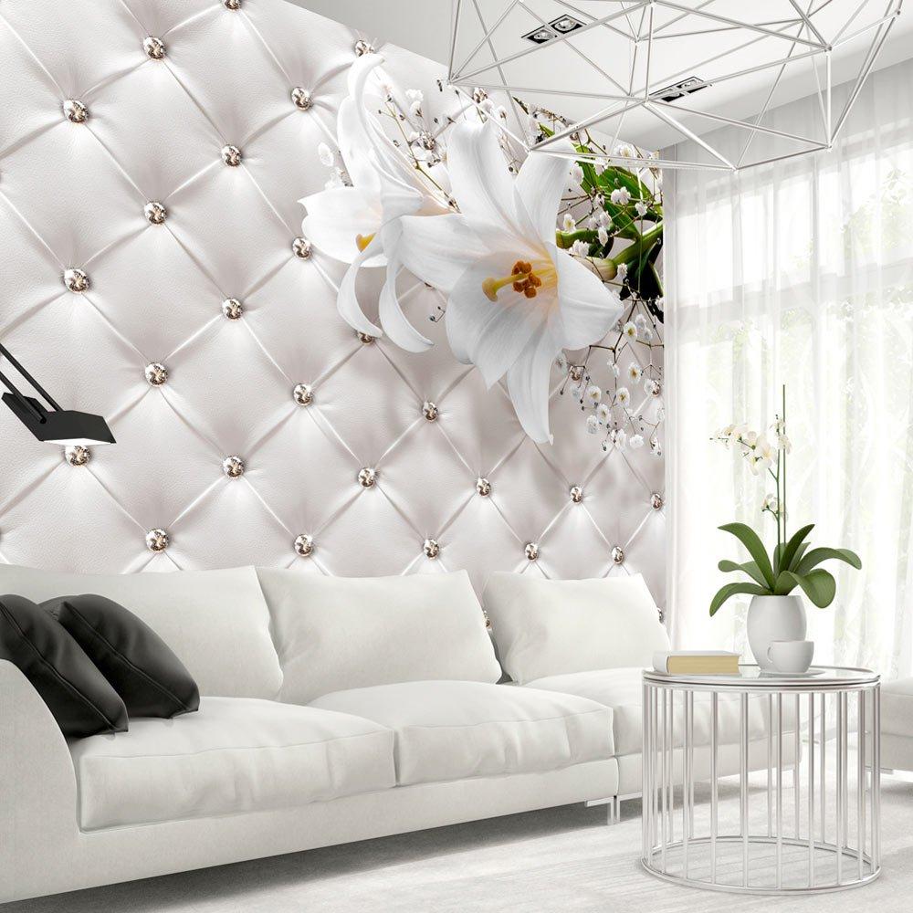 Murando - Fototapete 400x280 cm - - - Vlies Tapete - Moderne Wanddeko - Design Tapete - Wandtapete - Wand Dekoration - Leder weiß modern f-B-0039-a-a B01HGWEQ6S Wandtattoos & Wandbilder d1fbd2