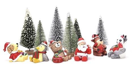 Babbo Natale X Desktop.Peerless 12 Pz Decorazioni Di Natale In Miniatura Diy