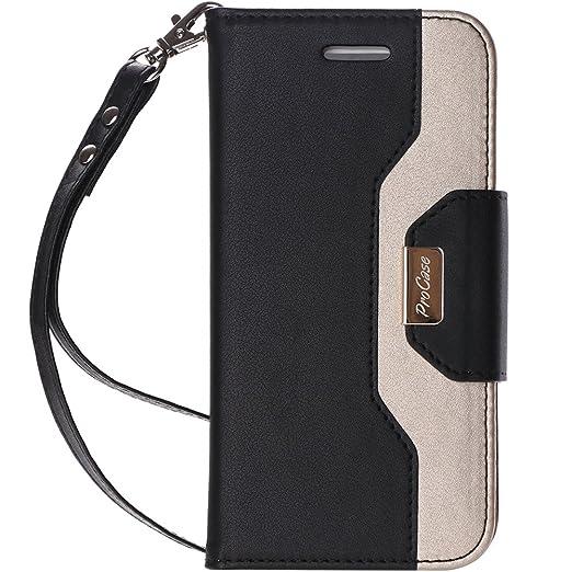 2 opinioni per ProCase Custodia Portacartelli iPhone X, Custodia per Flip con Fessure per Carte