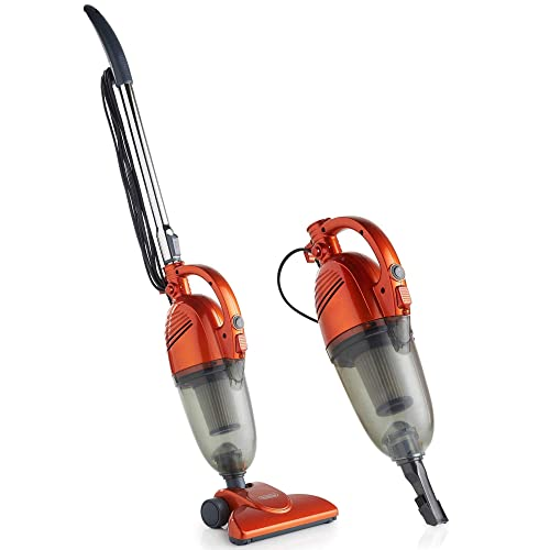 VonHaus Stick Vacuum Cleaner 600W Corded U2013 2 In 1 Upright U0026 Handheld Vac  With Lightweight