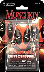USAopoly Munchkin Just Deadpool Game