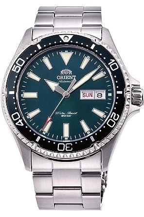 Orient Reloj Analógico para Hombre de Automático con Correa en Acero Inoxidable RA-AA0004E19B: Amazon.es: Relojes