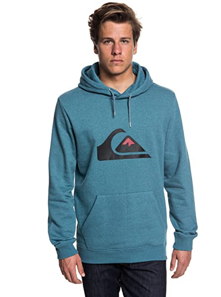 Quiksilver Big Logo - Sudadera con Capucha para Hombre EQYFT03856: Amazon.es: Ropa y accesorios