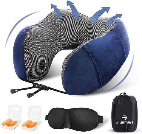 Foam Neck Pillow Airplane Travel Kit