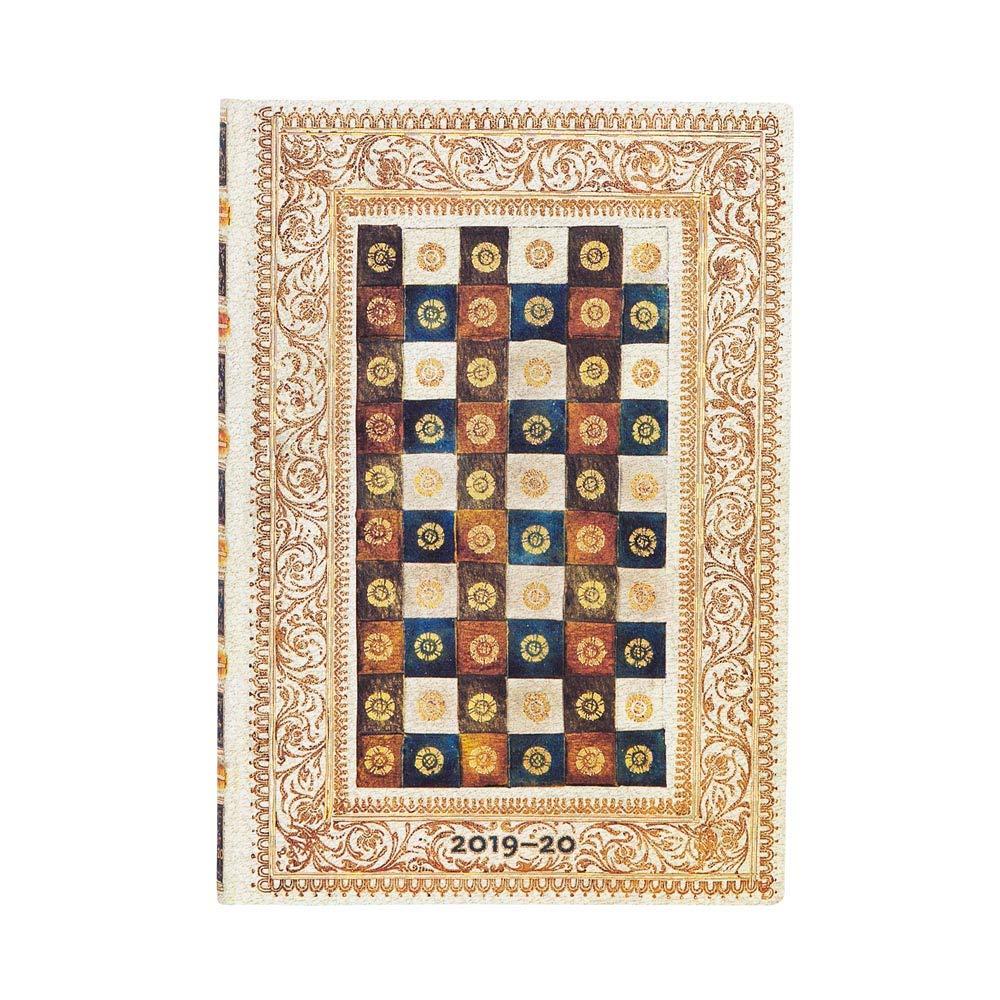 Agenda y calendario de 18 meses de Paperblanks con tapa flexible de Softcover, de julio de 2019 a diciembre de 2020, semana semanal (horizontal), ...