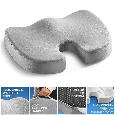 Cojín ortopédico para asiento de espuma con efecto memoria ...