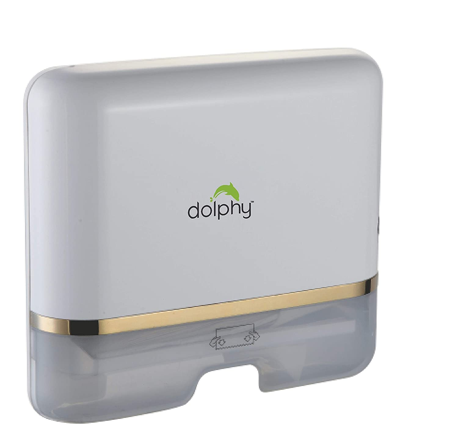 Dolphy Multifold Hand Towel Paper Dispenser – White