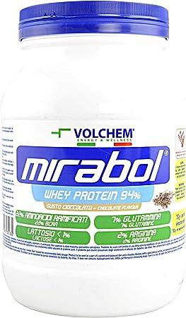 volchem mirabol proteína Whey 94%, 750 g, vainilla
