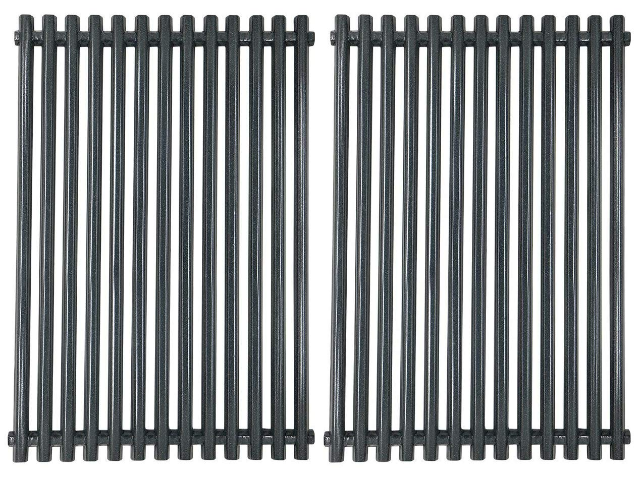 Broilmann Cooking Grill Grid Grates for Weber Spirit Genesis Grills, Lowes Model Grills Cooking Grate Aftermarket BBQ Barbecue Cooking Rack (11 3/4'' x 17 1/4''), 7527 9869 7526 7525 (Porcelain Steel) by Broilmann