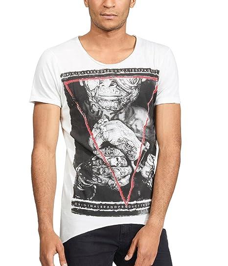 trueprodigy Casual Homme Tee Shirt Motif imprimé, Vetements Swag Marque col  Rond (Manche Courte   Slim fit Classic), t-Shirt Mode Fashion  Amazon.fr   ... 9685411d4a11