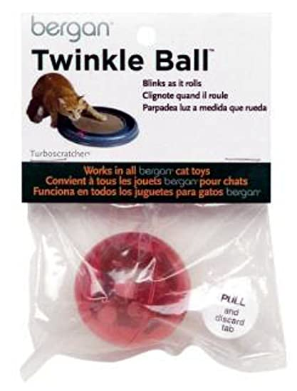 Bergan Twinkle Replacement Ball, Colors Vary 2-Pack