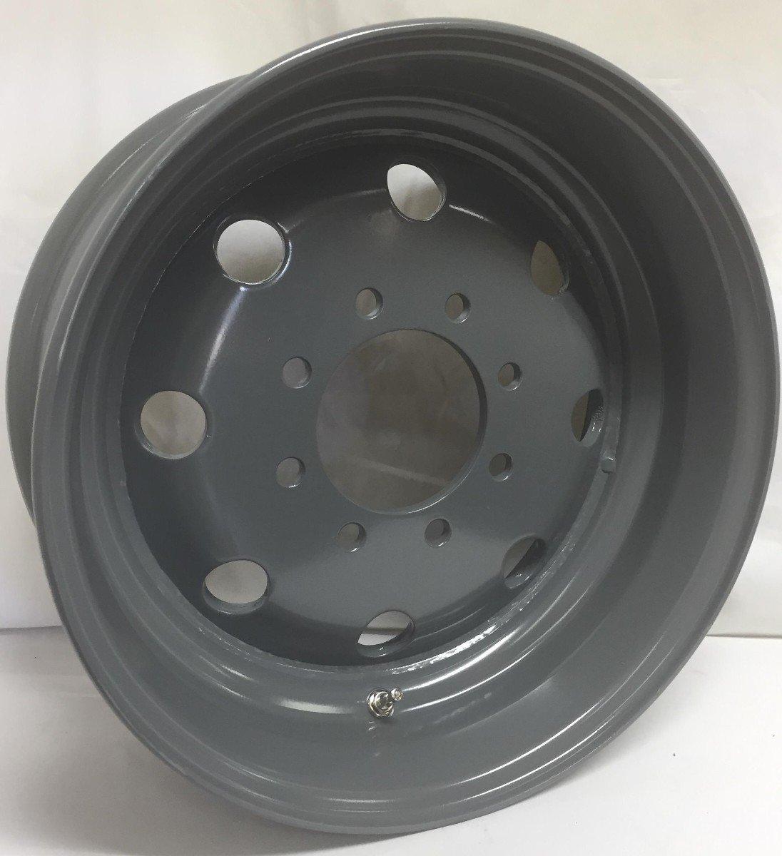 New 17.5'X 6.75 8X6.5 bolt pattern Grizzle Grey Modular Trailer Wheel Rim 8 Lug WHEELS EXPRESS INC.
