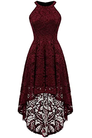 Babyonline Floral Lace Semi Formal Dresses