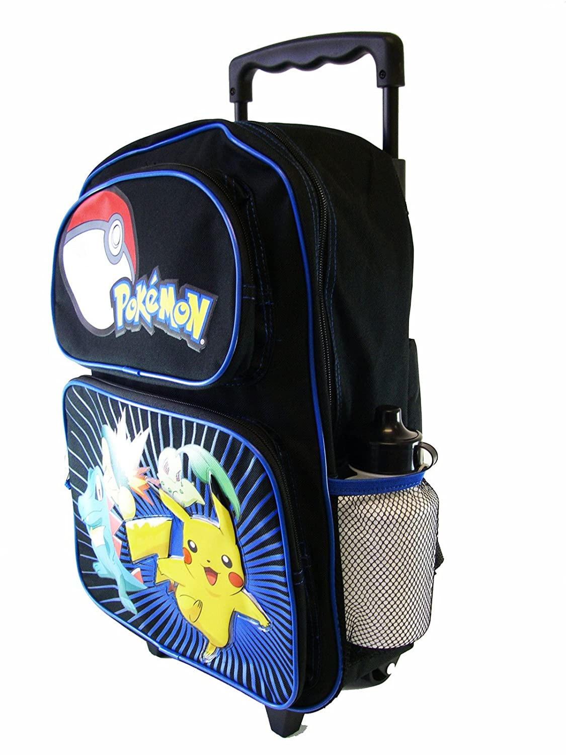Amazon.com: Pokemon Rolling Backpack - Pikachu Pokemon Pocket ...