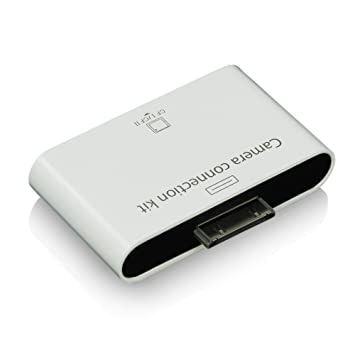 Hebron - Lector de tarjeta de memoria Flash CF (Compact Flash) para Apple iPad, iPad2 ||Hebron Camera Connection Kit card reader for Apple iPad iPad 2 ...