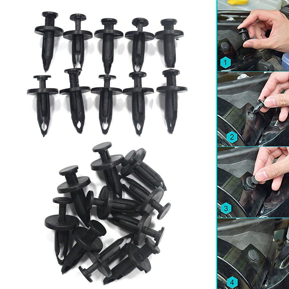 Tuqiang Auto rivetti in plastica Fastener Fissaggio clip pannello porta 30 pezzi