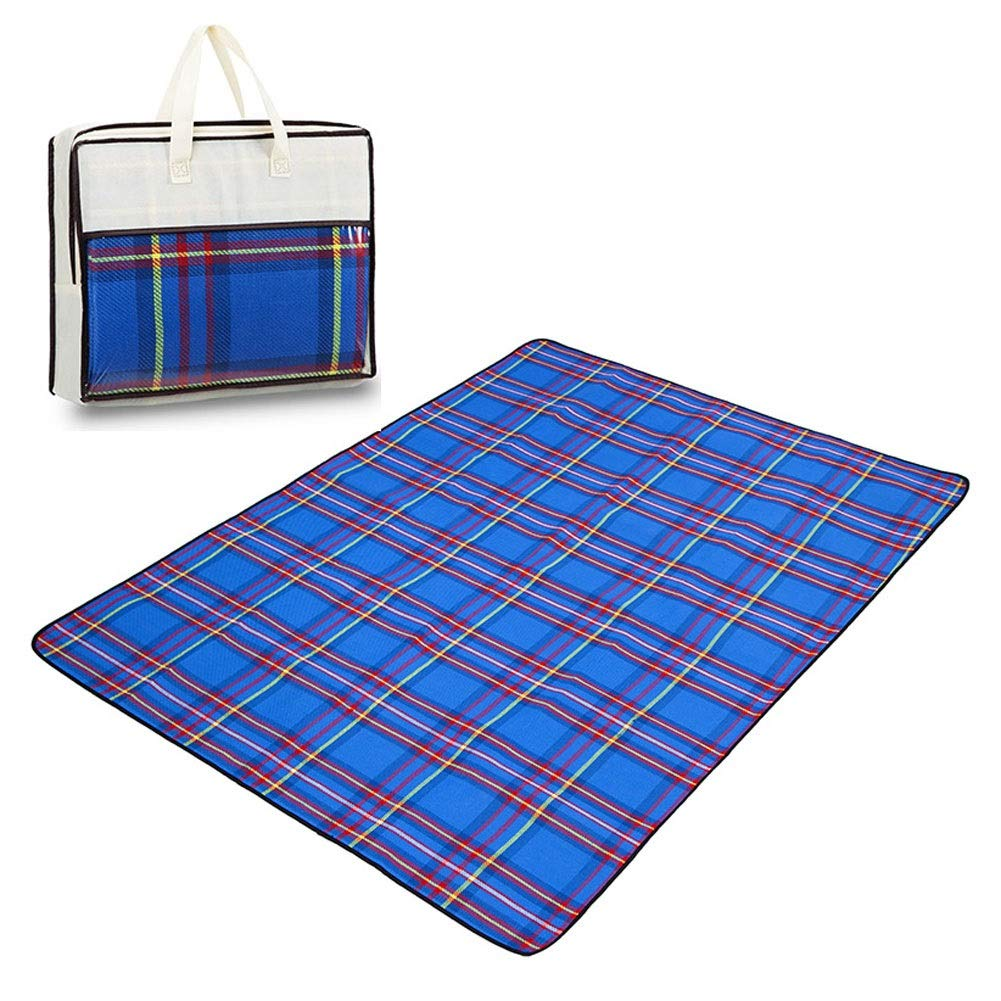 Picnic Blanket Outdoor Foldable Beach Mat Large Waterproof Sleeping Mat Mattress Camping Tarp Pet Pad (Color : #4, Size : 200200cm) by FZZ-picnic blanket