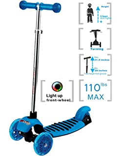Amazon Com Razor Jr Lil E Electric Scooter Blue Sports