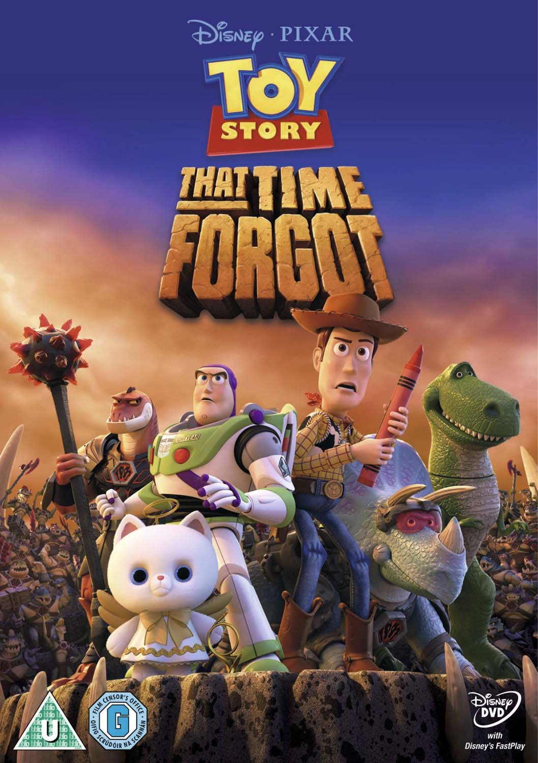 Toy story of terror 1 2 3 buzz lightyear of star command for sale - Toy Story That Time Forgot Dvd Amazon Co Uk Steve Purcell Galyn Susman Dvd Blu Ray