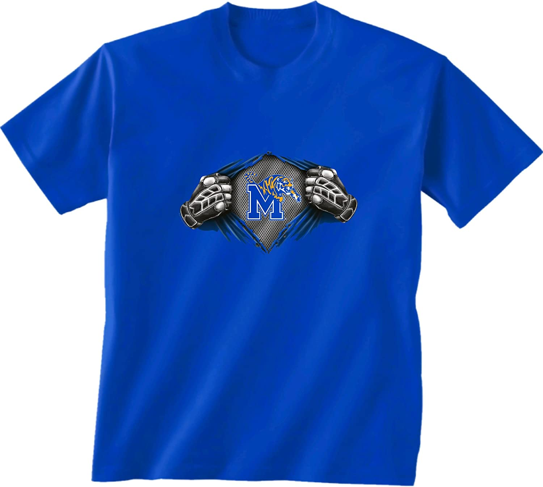 New World Graphics NCAA Unisex-Child NCAA Youth Super Short Sleeve