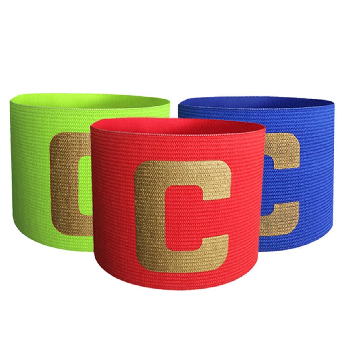 HNJZX Kinder, Rugby-Armband–geeignet für mehrere Sportarten wie Fußball 3Stück in verschiedenen Farben B