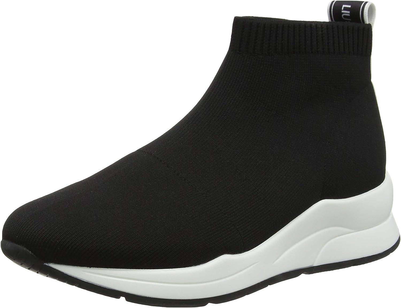 Ataque de nervios limpiar Descompostura  Liu Jo Shoes Women's Karlie 16-Elastick Sock Black Low-Top Sneakers:  Amazon.co.uk: Shoes & Bags