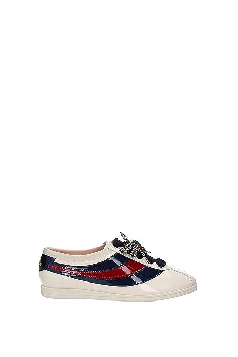 Sneakers Gucci Mujer - Charol (493694BS7Y0) EU: Amazon.es: Zapatos y complementos