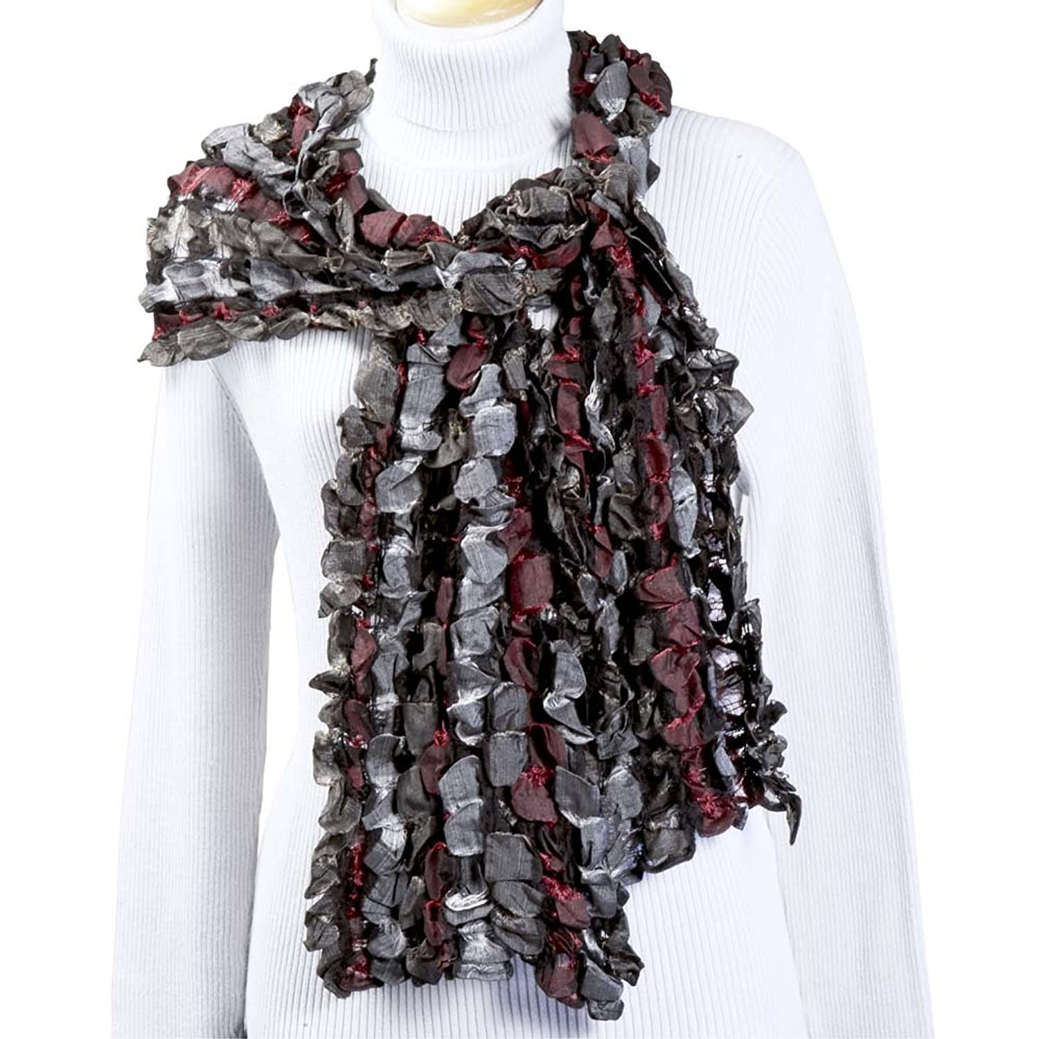 Beautiful Reversible Scarf 'Greystone River Scarf'