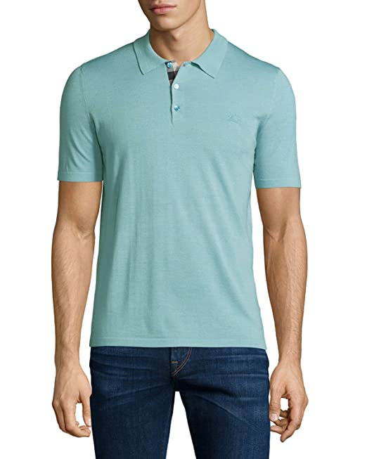 BURBERRY BRIT - Polo para Hombre OXFORD - turquesa, M: Amazon.es ...