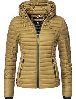 Marikoo Damen Jacke Steppjacke Herbst Winter Übergangsjacke