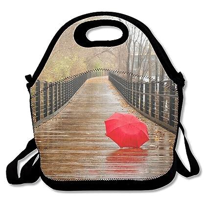 2f1b1bef0132 Amazon.com: Jingclor Red Umbrellas Insulated Portable Reusable ...