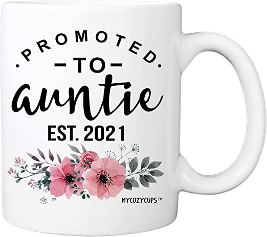 Best Coffee Subscription 2021 Amazon.com: Promoted To Auntie 2021 Coffee Mug   11oz Cup Baby
