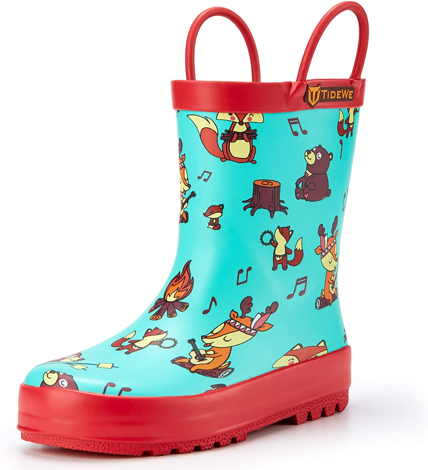 TideWe Rain Boots for Kids and Toddlers