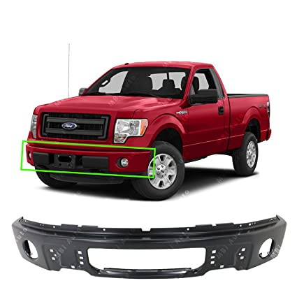 Mbi Auto Primered Steel Front Bumper Face Bar Shell For 2009 2010 2011 2012 2013 2014 Ford F150 Pickup Wfog 09 14 Fo1002413