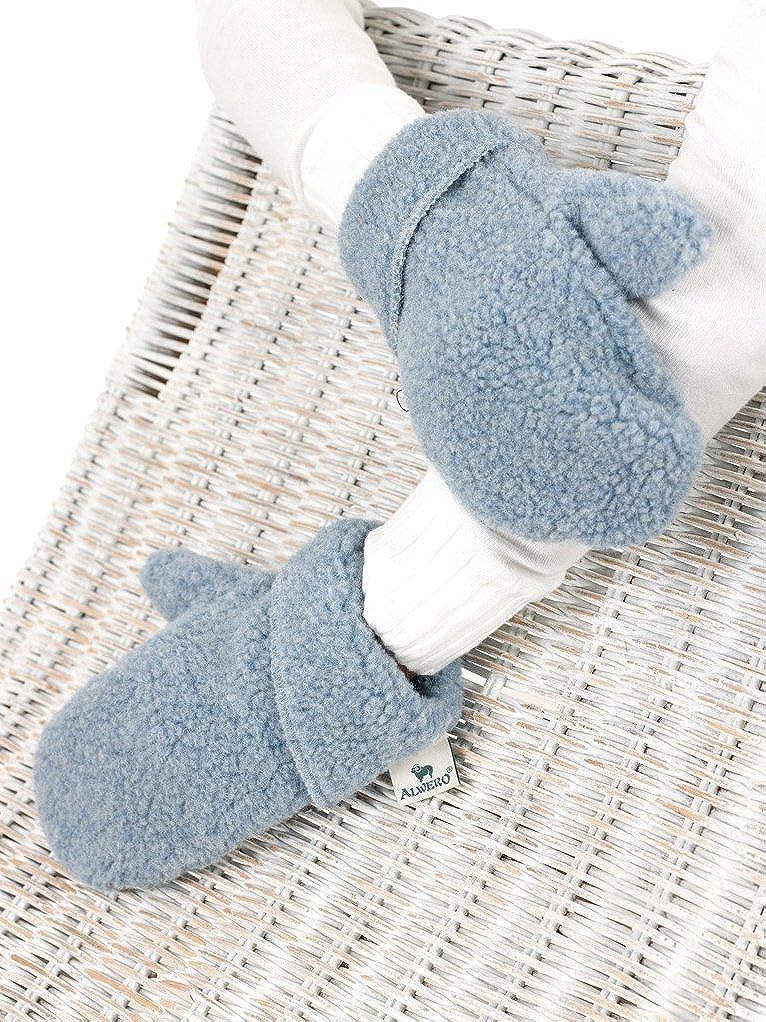 Alwero Damen Winter-Handschuhe Warme Wolle Thermohandschuhe
