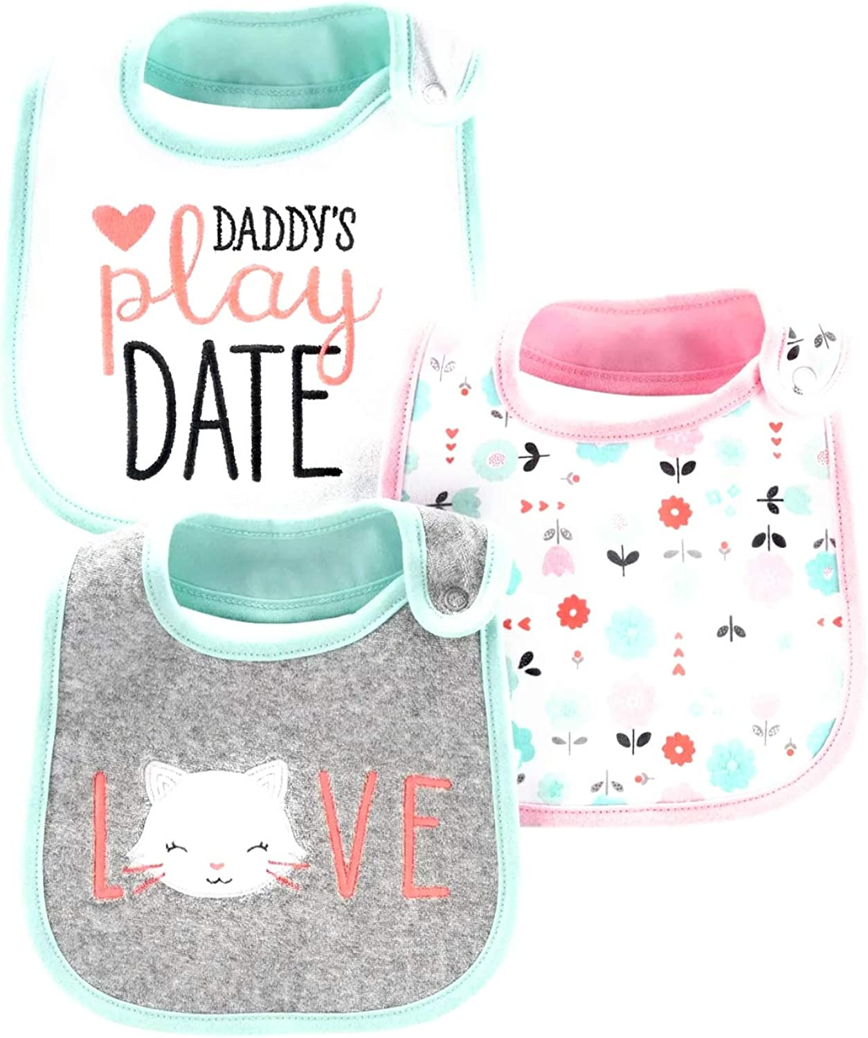 NEW Baby Boys 3-pack Child Of Mine By Carter/'s Bibs