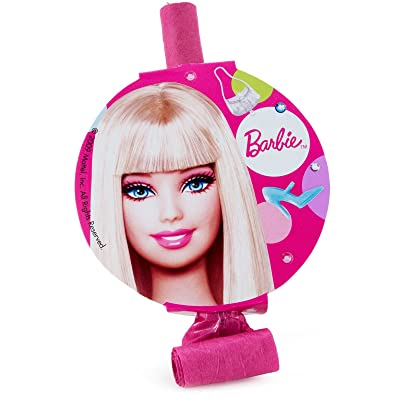 Barbie All Dolled Up Party Blowouts, 8-Count: Toys & Games