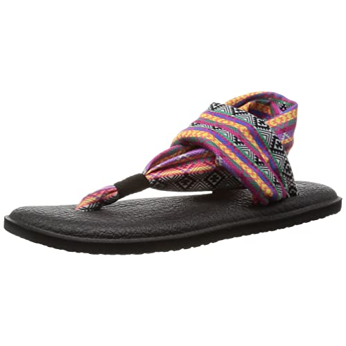 Sanuk Yoga Shoes Amazon: Women's Magenta Sandals: Amazon.com