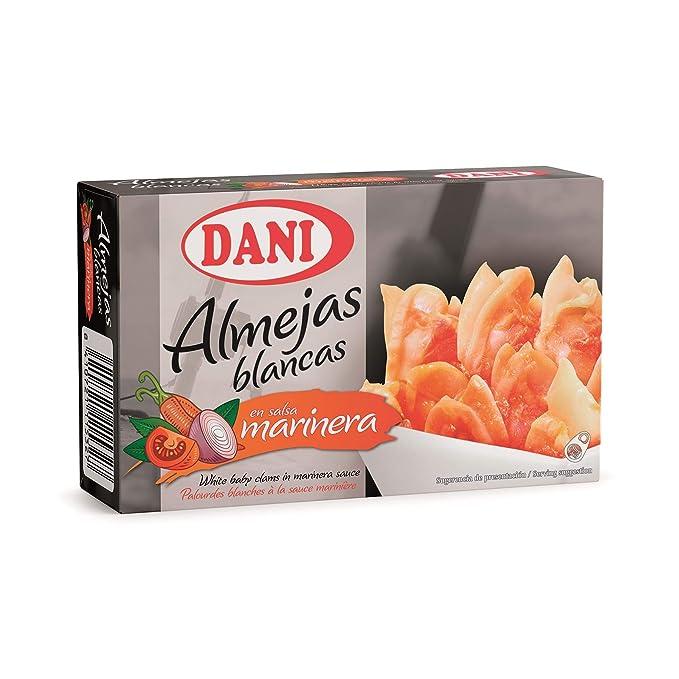 Dani, Conserva de almeja - 8 de 120 gr. (Total 960 gr.