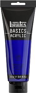 Liquitex BASICS Acrylic Paint, 8.45-oz tube, Ultramarine Blue
