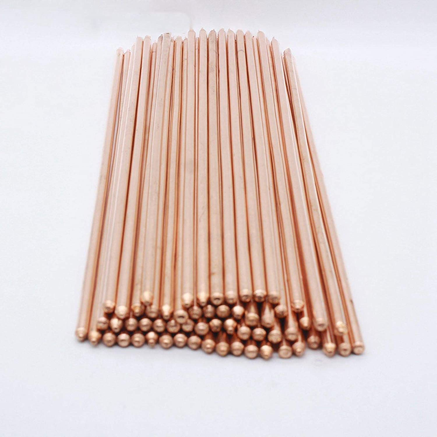 Maslin 220mm 240mm Length 10mm Diameter Cooling Round Rod Copper Heatsink Heatpipe Laptop DIY CPU - (Size: 240mm)