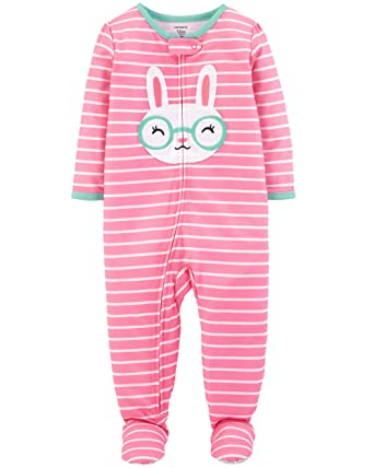 Carter s Baby Girls  1-Piece Snug Fit Cotton Pajamas (12 Months 0c9e7efb6