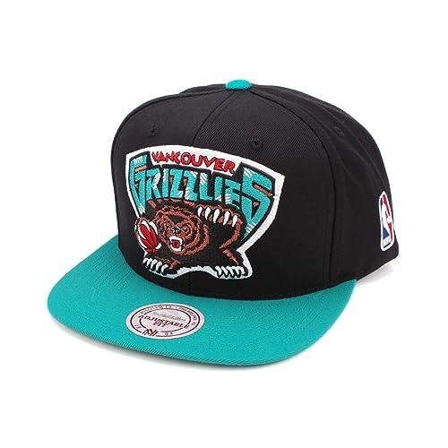 Mitchell & Ness Mens Miami Heat XL Logo 2-Tone Snapback Hat
