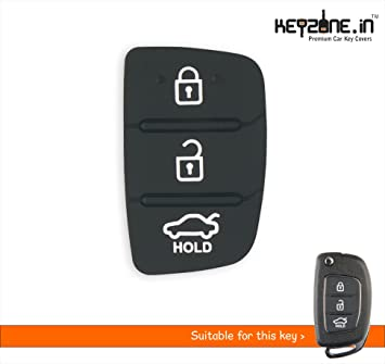 Keyzone Kphy012 Replacement Remote Keypad Fit For Hyundai I20