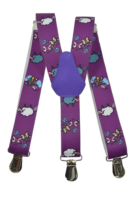 Olata Bretelles entièrement réglable pour les enfants 1-5 ans - Mouton motif