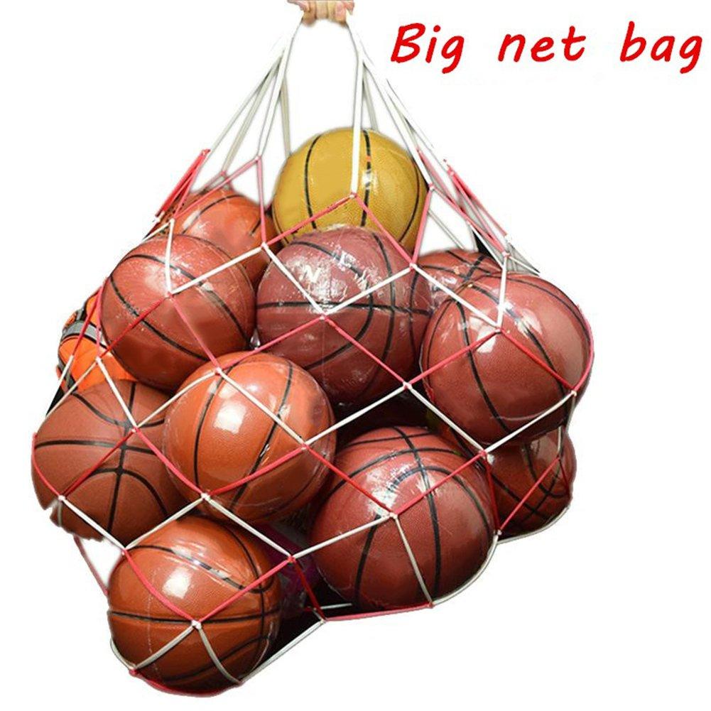 Filet de rangement pour ballons de foot extra large et solide Pour 15ballons Filet de rangement pour les jouets des enfants Pour parent ou coach, facile à transporter et à organiser les affaires. Hete-supply
