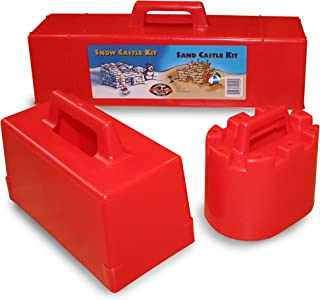 product image for Flexible Flyer Snow Fort Building Kit Brick Form & Sand Castle Mold Block, Beach & Winter Toy